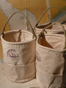 Hand made boat bags